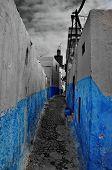 Streets Of Rabat, Morocco