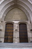 Gothic Architecture - Entrance Of Sint-Rombouts Cathedral, Mechelen, Belgium