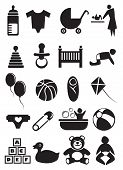 Baby Stuff Icon Set