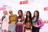 LOS ANGELES - MAY 10:  Lauren Bennett, Paula Van Oppen, Emmalyn Estrada, Simone Battle, Natasha Slay