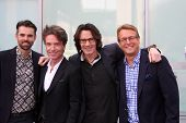 LOS ANGELES - MAY 9:  Jason Thompson, Richard Marx, Rick Springfield, Doug Davidson at the Rick Spri