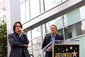 LOS ANGELES - MAY 9:  Rick Springfield, Doug Davidson at the Rick Springfield Hollywood Walk of Fame Star Ceremony at Hollywood Blvd on May 9, 2014 in Los Angeles, CA