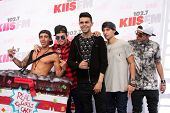 LOS ANGELES - MAY 10:  Jai Brooks, Daniel Sahyounie, Luke Brooks, James Yammouni, Beau Brooks, The J