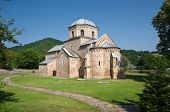stock photo of anjou  - Gradac Monastery founded by Helen of Anjou - JPG