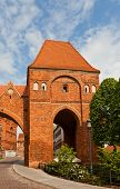Gdanisko Tower (xiv C.) Of Teutonic Order Castle. Torun, Poland