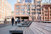 Enjoying The High Line