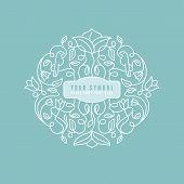 Vector Abstract Wedding Monogram