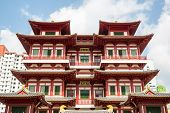 Architecture of Singapore buddha tooth relic temple