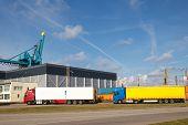 Export trucks