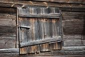 Weathered Barn Door.