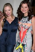 LOS ANGELES - MAY 6:  Jennifer Gareis, Heather Tom at the Bold & Beautiful Celebrates Emmy Nominatio