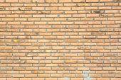 grunge brick wall using as background