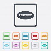 image of fragrance  - Perfume sign icon - JPG