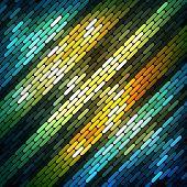 Colorful shiny mosaic background, vector eps10 illustration