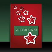 Christmas Flyer or Cover Design Template