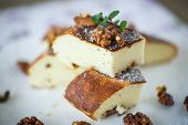 Cottage Cheese Casserole With Walnuts