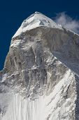 Shivling mountain, the Himalayas