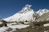 Shivling mountain, Himalayas