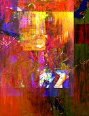 Very Large scale abstract Original Oil on canvas