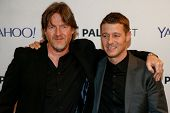 NEW YORK-OCT 18: Actor Donal Logue (L) and Benjamin McKenzie attend the 2nd Annual Paleyfest New York Presents: 'Gotham' at Paley Center for Media on October 18, 2014 in New York City.