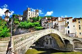 beautiful medieval villages of Italy - Dolceaqua (Liguria)