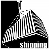 Shipping Black And White
