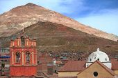 Silver Mountain In Potosi