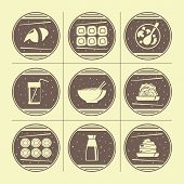 Japanese Cuisine Icons