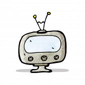 cartoon television set