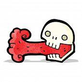 spooky skull symbol