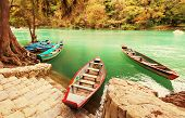 Fishing boats in Mexico
