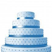 3d image of wedding cake