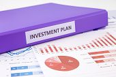 Investment Plan And Financial Graph Analysis