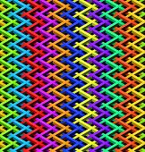 abstract seamless Color chain link fence