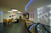 Modern apartment: Interior lighting design