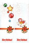 Abstract Celebration Greetings With Christmas Illustrative Elements 06