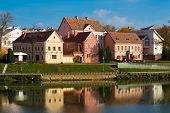 Traetskae Pradmestse (Trinity Suburb) - historical center of Minsk, Belarus