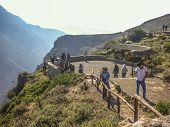 Waiting For The Condors In The Colca Valley