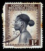 Ba-tetele Woman, Belgian Congo