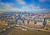 picture of westminster bridge  - Houses of Parliament and Westminster bridge in London - JPG