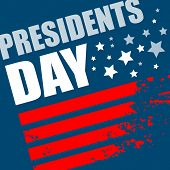 foto of patriot  - Presidents Day Vector Background - JPG