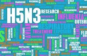 picture of avian flu  - H5N3 Concept as a Medical Research Topic - JPG