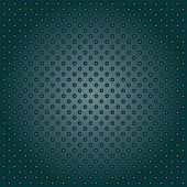 stock photo of metal grate  - Concept conceptual green abstract metal stainless steel aluminum perforated pattern texture mesh background as metaphor to industrial - JPG