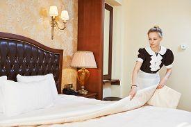 stock photo of maids  - Hotel service - JPG