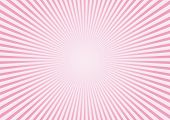 Rays on pink background