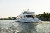 Yacht Underway