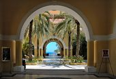 View Through The Arches In Cabo San Lucas, Mexico