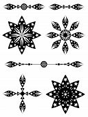 Stars Scroll Art