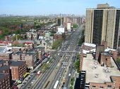 Queens Boulevard From Above