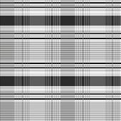 Vector decorative plaid pattern. Easy to scale and edit. Pattern is included as seamless swatch